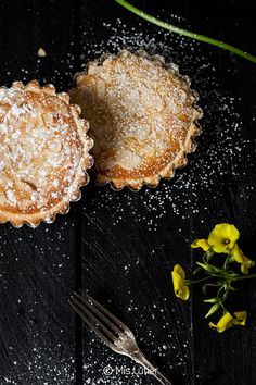 Mis Lutier: Tartaletas de limón y almendra