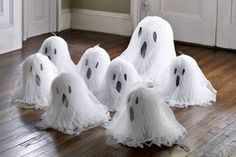 little Halloween Ghosts