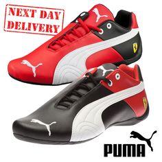 New Puma Mens Ferrari Future SF OG Motorsports Leather Trainers Boots UK Sz  6-12  e7c5f2ae3