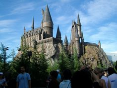 Universal Studios Orlando | Harry Potter- The whole family loves Harry Potter. Can't wait to get back!