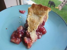 """Homemade Gooseberry Pie {The Beating Hearth} """"I would compare this pie to a tart cherry pie.but better"""" (Homemade Butter Tarts) Fruit Recipes, Sweet Recipes, Dessert Recipes, Cooking Recipes, Gooseberry Recipes Desserts, Yummy Recipes, Croissants, Beignets, Just Desserts"""