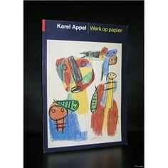 Haags Gemeentemuseum, Appel # KAREL APPEL # Werk op papier, 1982, nm