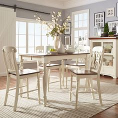 Shop for TRIBECCA HOME Mackenzie Counter-height Extending Dining Set. Get free delivery at Overstock.com - Your Online Furniture Shop! Get 5% in rewards with Club O!