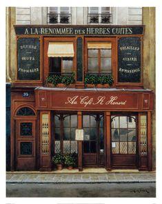 Vintage poster: Café de Paris