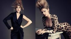 Doutzen Doutzen Kroes, Brigitte Bardot, Vintage Designs, Black, Dresses, Style, Fashion, Fashion Styles, Vestidos