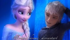 Photo of Jack Frost and Elsa for fans of Elsa & Jack Frost.