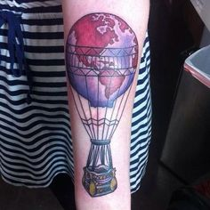 40 Travel Inspired Tattoos from Travelers, Bloggers, & Myself • Camera & Carry On