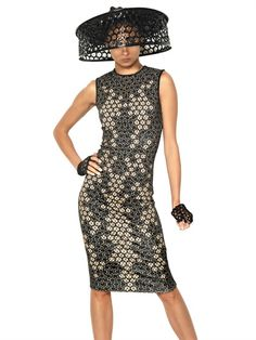 Spring/Summer 2013: ALEXANDER MCQUEEN - LACE PRINT ON VISCOSE JERSEY DRESS