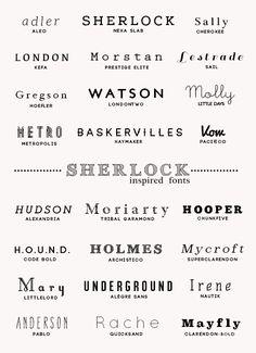 sherlock design inspiration sherlock holmes john watson fonts resources font pack my resources myresources font rec firstpack inspired. Typography Inspiration, Typography Design, Logo Design, Free Typography Fonts, Web Inspiration, Vector Design, Design Design, Branding Design, Graphic Design