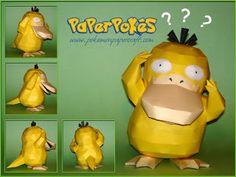 Paperpokés - Pokémon Papercraft: PSYDUCK V2