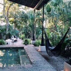 clubmonaco:  Secret Garden. Coqui Coqui Valladolid, Mexico.