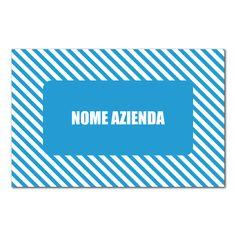 Biglietto da visita bifacciale Fasce Ciano personalizzabile direttamente online tramite il nostro editor grafico. Ottima qualità e ottimi prezzi.