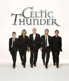 Celtic Thunder (Damian McGinty, Keith Harkin, George Donaldson, Paul Byrom, Ryan Kelly)