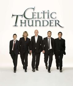Celtic Thunder (Damian McGinty, Keith Harkin, George Donaldson, Paul Byrom, Ryan Kelly)