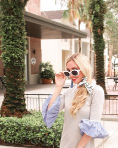 Silk scarves are all the rage this summer, but if you are needing a bit of inspo on where to buy and how to style, I have 3 ways you can style a silk scarf. Outfit Of The Day, Fashion Bloggers, Fashion Trends, Curvy, Italian Summer, Glamour, Street Style, Silk, Boho