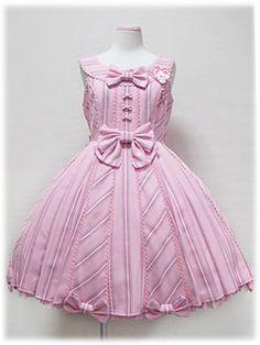 Angelic Pretty / Jumper Skirt / Wonder Trip Regimental JSK