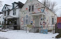 The Heidelberg Project: Number House