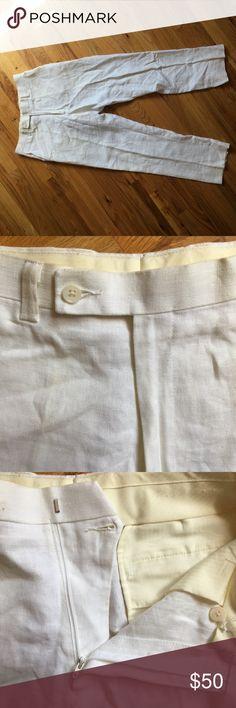 Calvin Klein Linen Men's Pants Size 32 Calvin Klein men's linen pants in good condition. Size 32/30. Calvin Klein Pants