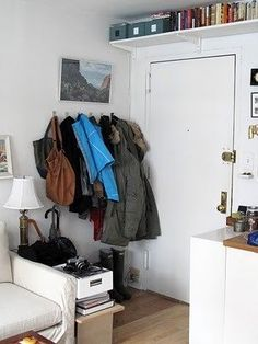Sadly this is how much coats and accessories I would need to fit. Question: How do you make it beautiful?