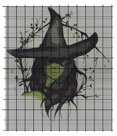 ca7785436a6b3618ba40c119fbb1c190--wicked-cross-stitch-halloween-cross-stitch.jpg (736×855)