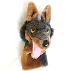 do you know the Vintage the Big Bad Wolf  hand puppet plush toys