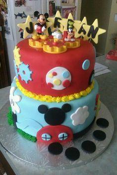 Mickey Mouses Club House Birthday Cake