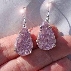 Sweet Lilac  Beautiful Amethyst Druzy Crystal by TreasuresOfEarth, $30.00