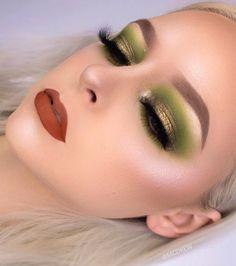 Mode Disco, Green Eyeshadow, Eyeshadow Ideas, Violet Voss, Pink Grapefruit, Hello Gorgeous, Nyx Cosmetics, Covergirl, Martini