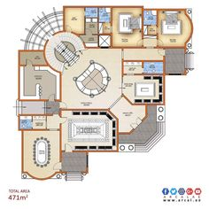 Breathtaking Interior paint colors blue green,Modern interior design paint colors and Interior painting jobs. House Layout Plans, New House Plans, Dream House Plans, House Layouts, House Floor Plans, Villa Design, Modern House Design, Home Design Plans, Plan Design