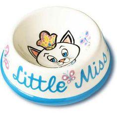 Little Miss Purrfect Cat Bowl