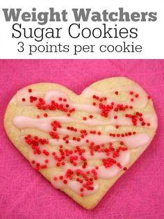 Weight Watchers Sugar Cookies recipe