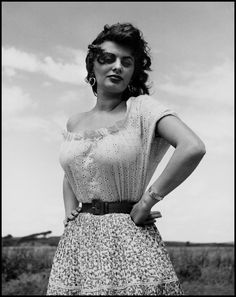 L'album vintage des stars Sophia Loren