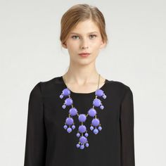 Lavender Bubble Necklace