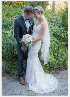 Kelsie is stunning wearing Enchanting by Mon Cheri Style 117179 - beaded lace wedding dress with spaghetti straps