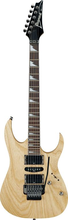 Ibanez RG470AHZ-NTF Electric Guitar Natural Flat... I love Ibanez guitars so much, they sound great and they're really cool looking.