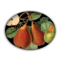 Check out the deal on Tuscan Pear Glass Soap Dish at The Paper Store