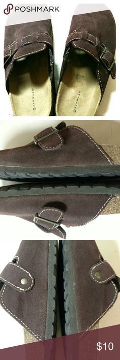 Airwalk  mules Very comfortable!  Nice chocolate brown suade.  Great to slip into and go... Airwalk Shoes Mules & Clogs