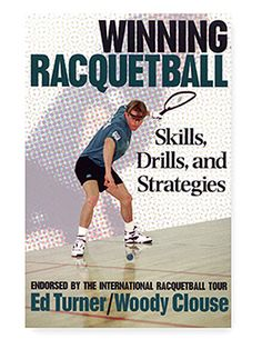 Whether you're a competitive tournament player or a recreational player, Winning Racquetball: Skills, Drills, and strategies will help you improve your game.  The authors - veteran racquetball player and instructor Ed Turner and once #9 ranked player Woody Clouse - Show you all the shots and strategies for success on the court. Using more than 140 photos and illustrations, the book includes dozens of practical tips and 35 drills for better practice and performance. $9.95