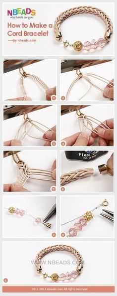 How to Make A Cord Bracelet – Nbeads by Stoeps