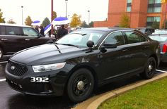 2013 Ford Taurus Police Unmarked