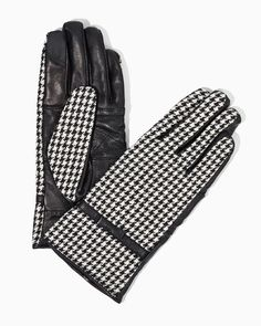 charming charlie | Posh Houndstooth Gloves | UPC: 410006858367 #charmingcharlie