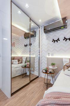 Home Design Decor, Dream Home Design, House Design, Interior Design, Pink Bedroom Design, Girls Bedroom, Bedroom Decor, Neon Room, Minimalist Home Decor