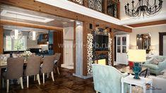 Дизайн интерьеров дома по проекту JAAKKO 187 Pergola, Loft, Outdoor Structures, Interior Design, Bed, Furniture, Home Decor, Nest Design, Decoration Home