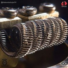 @thebeardedvaper94 -  heres a focus stacked image using my iphone of the corrugated framed staple tsuka. specs are-2x crimped 0.4 framed with 2x2ply 0.4 and 28g tsuka wrap is 0.3n80 all @atomizerwick wire  @buildfaction #vapedaily#vapenation #vaper #vapelove #eliquid #instavape #ejuice #vapehooligans #vapefamily #vapeallday #vapetricks #girlsthatbuild #vapefam #handcheck #vape#vapelife #vapelyfe #vapecommunity#drippersociety #vapeon #vapestagram #vapehard #vgod#vapefamous #vapegram #ukv...