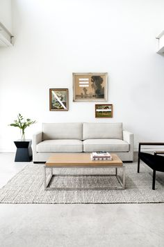 Designed for the modern enthusiast, the Richmond Sofa has a mid-century influence without sacrificing comfort. Sleek lines coupled with a tailored finish make the Richmond Sofa work with a variety of interior styles. Constructed of FSC Certified Ash Coffee Table Rectangle, Coffee Table Design, Coffee Tables, Home Furnishing Stores, Home Furnishings, Sofa Frame, Luxury Sofa, Living Room Sofa, Contemporary Furniture