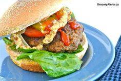 Canadian beef burger!
