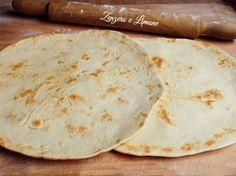 Piadina+romagnola,+ricetta+Bimby