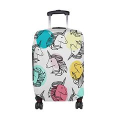 #ALAZA #Multi #Unicorn #Polyester #Luggage #Travel #Suitcase #Cover #Case #Protector Product Material: 80% #Polyester +20% Spandex material Lycra cloth: cloth has certain elasticity Function: A hand rod hole, an upper hand hole, a side hand hole, a magic stick, a fixed socket Make the #suitcase special, not to get wrong during the trip, to protect the #suitcase perfectly. https://travel.boutiquecloset.com/product/alaza-multi-unicorn-polyester-luggage-travel-suitcase-cover-cas