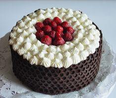 Técnica decorativa con chocolate tartas pasteles dulces y salados by mpop