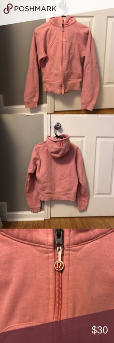Lululemon size up heavy hoodie Pink lululemon hooded zip up size 10 lululemon athletica Tops Sweatshirts & Hoodies